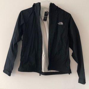 North Face Black Rain Coat Size XS